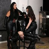 Goddess Alexandra Snow and Ezada Sinn Wrapped In Black Video 180219 mp4