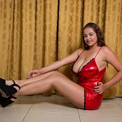 Jasmin Red Dress JTM Set 069 056