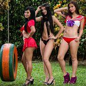 Sofia Sweety Thaliana Bermudez and Poli Molina Swing NSS Set 064 008