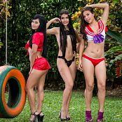 Sofia Sweety Thaliana Bermudez and Poli Molina Swing NSS Set 064 009