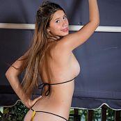 Tammy Molina Yellow Micro bikini TCG Set 005 008