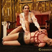 Goddess Alexandra Snow Red Rope Hogtie Photoshoot 301218 mp4