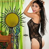 Samantha Gil Black Bodysuit TM4B Set 004 005