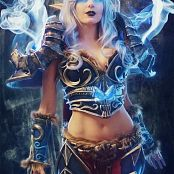 Jessica Nigri DeathKnight Picture Set