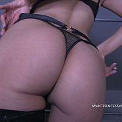 Princess Ashley Lingerie Ass Worship HD Video