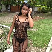 Thaliana Bermudez Black Bodystocking TCG HD Video 008