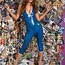 Latex Heaven Siterip EmmaKate TransparentBlueCatsuit