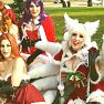 Jessica Nigri Patreon Siterip Holiday Ahri Video mp4
