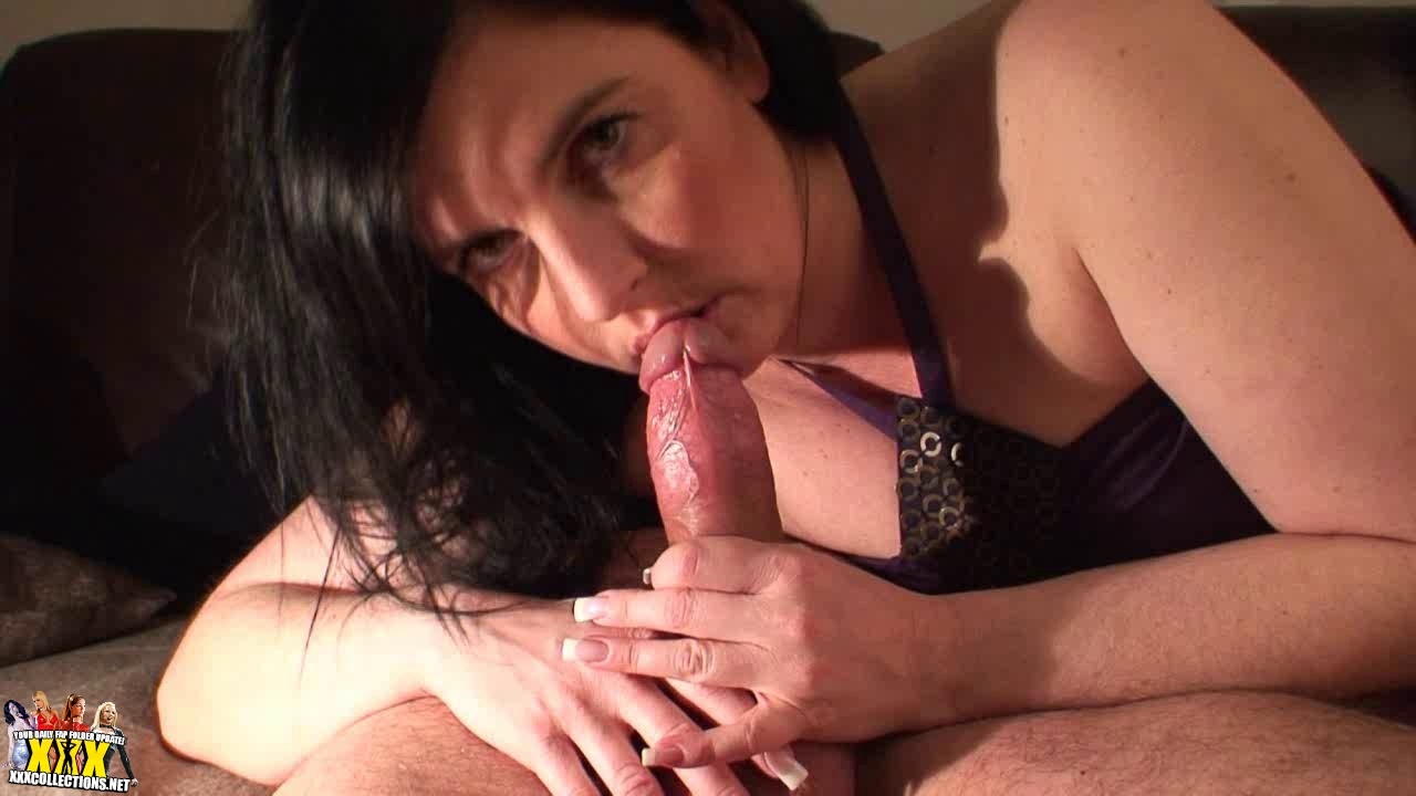 Big Titted French Girl Gives Handjob