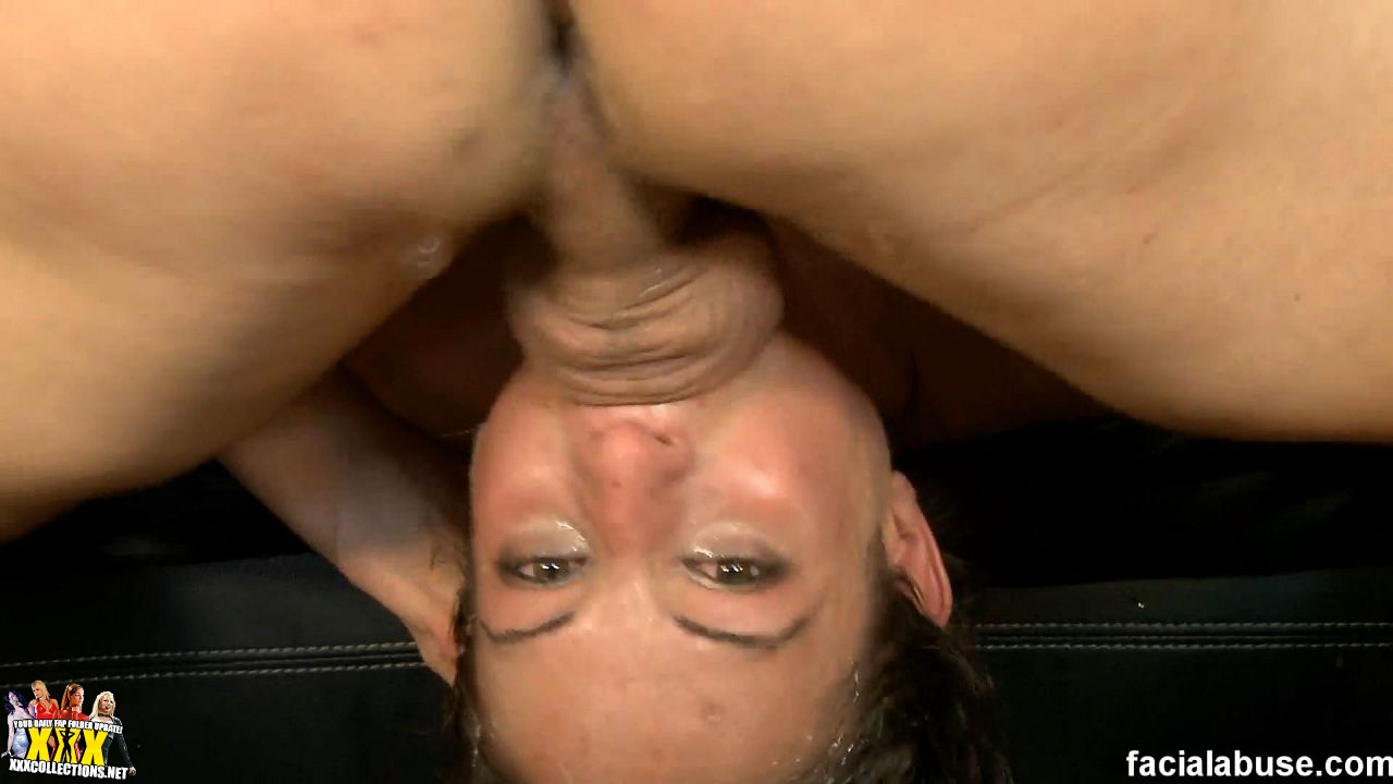 Amber Rayne Gets A Big Messy Facial Then Licks Up The Splooge